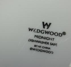 ウェッジウッド Wedgwood ミッドナイト 15cmプレート 【アウトレット/B級品グレード2】