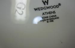 ウェッジウッド Wedgwood アテネ 20cmプレート 【アウトレット/B級品グレード2】
