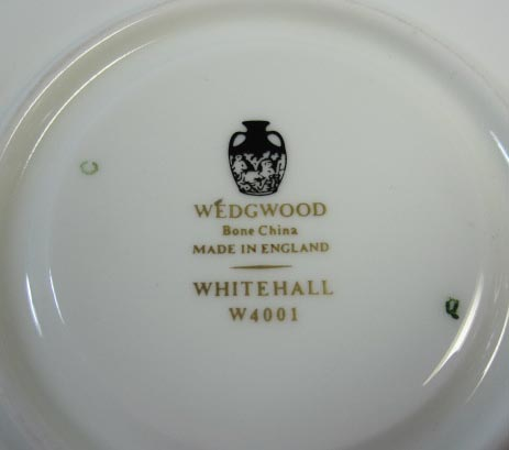 ウェッジウッドWedgwood ホワイトホール カップ&ソーサー リー 【ウェッジウッド廃盤品/個数限定】