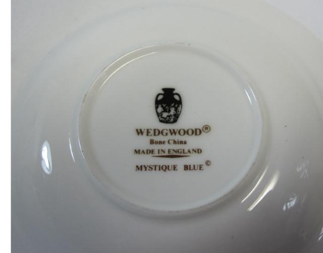 ウェッジウッドWedgwood ミスティックブルー デミタス カップ&ソーサー【ウェッジウッド廃盤品/個数限定】