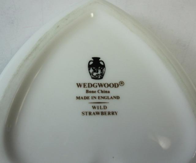 ウェッジウッドWedgwood ワイルドストロベリー スペードボックス【ウェッジウッド廃盤品/個数限定】
