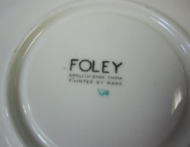 フォーリー FOLEY  V149  エスプレッソ カップ&ソーサー【廃盤品/個数限定】