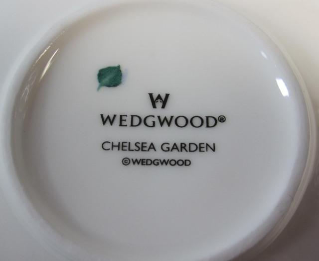 ウェッジウッドWedgwood チェルシーガーデン リーフディッシュ【廃盤/新品】