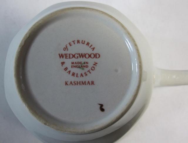 ウェッジウッドWedgwood  カッシュマー  ティーカップ&ソーサー【ウェッジウッド廃盤品/個数限定】