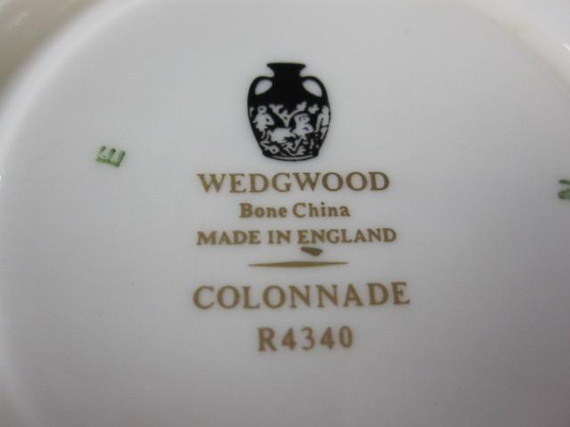 ウェッジウッド Wedgwood コロネードブラック カップ&ソーサー リー【ウェッジウッド廃盤品/個数限定】