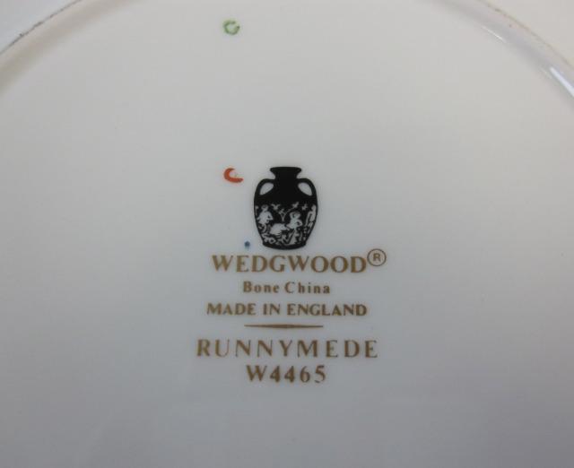 ウェッジウッドWedgwood ラニミードターコイス 16cmプレート 【ウェッジウッド廃盤品/個数限定】