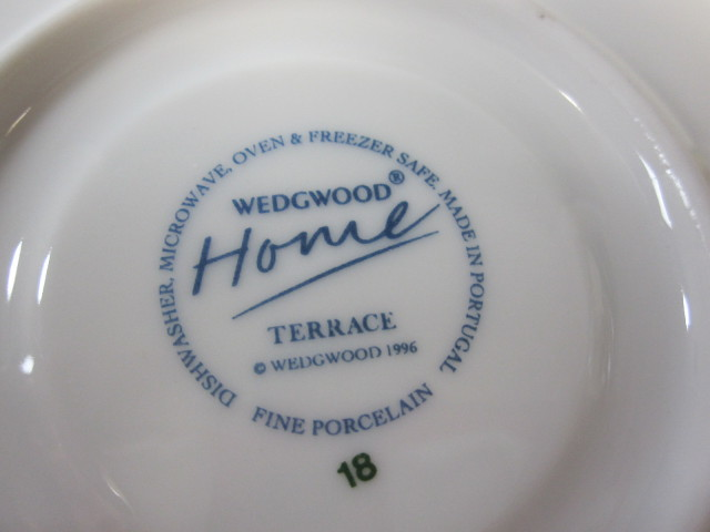 ウェッジウッドWedgwood テラス デミタス カップ&ソーサー 【ウェッジウッド廃盤品/新品】