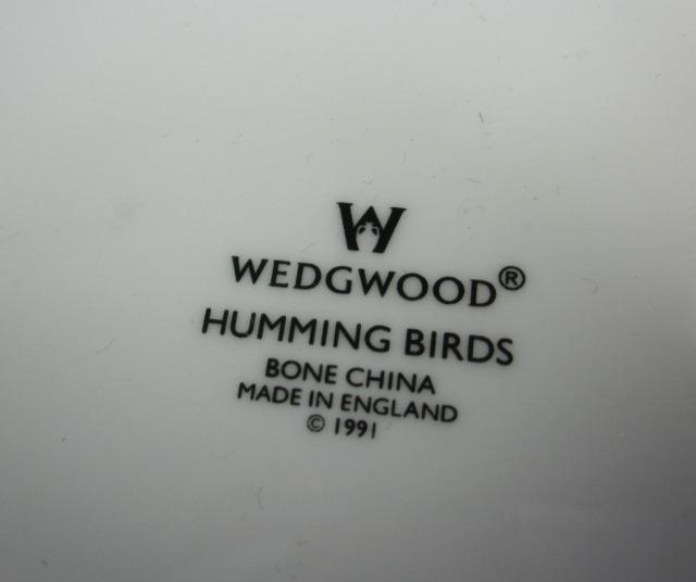 ウエッジウッド Wedgwood   ハミングバード 18cmプレート【廃盤/新品】