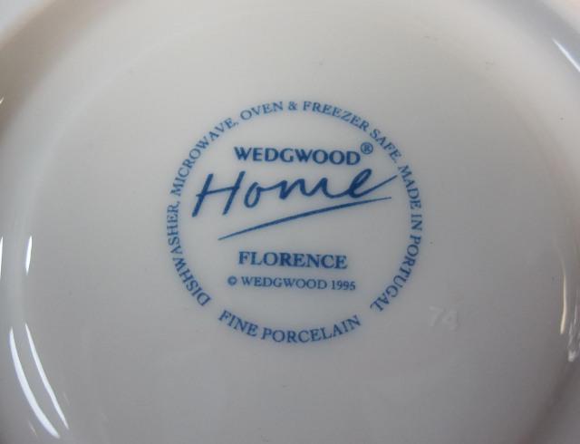 ウェッジウッドWedgwood フローレンス ティーカップ&ソーサー【ウェッジウッド廃盤品/個数限定】