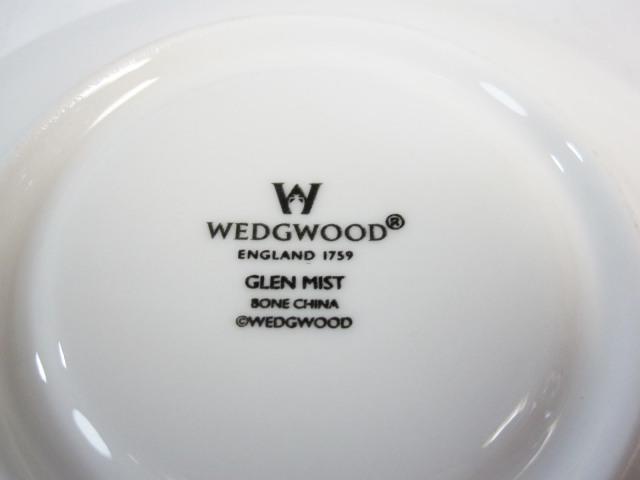ウェッジウッド Wedgwood グレンミスト カップ&ソーサー リー【ウェッジウッド廃盤品/個数限定】