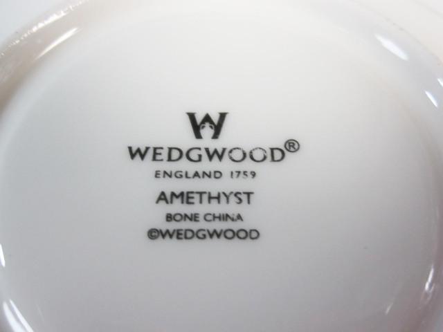 ウェッジウッド Wedgwood アメジスト ティー カップ&ソーサー リー 【ウェッジウッド廃盤品/個数限定】