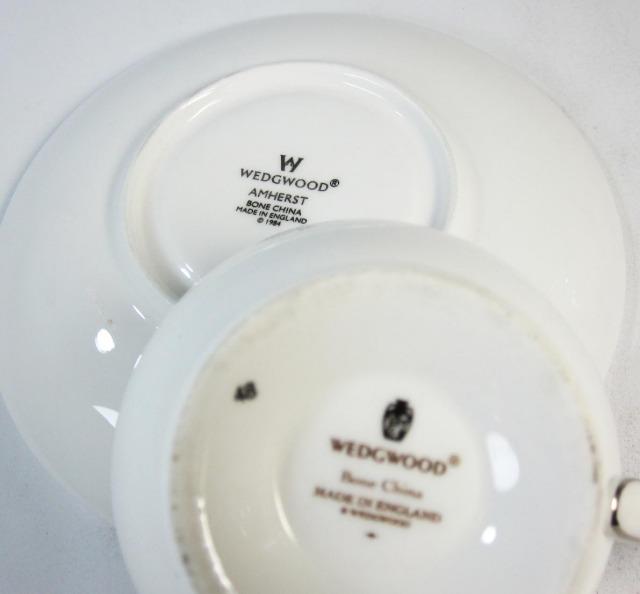 ウェッジウッド Wedgwood アムハースト ティーカップ&ソーサー リー