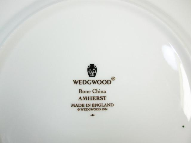 ウェッジウッド Wedgwood アムハースト 18cmプレート