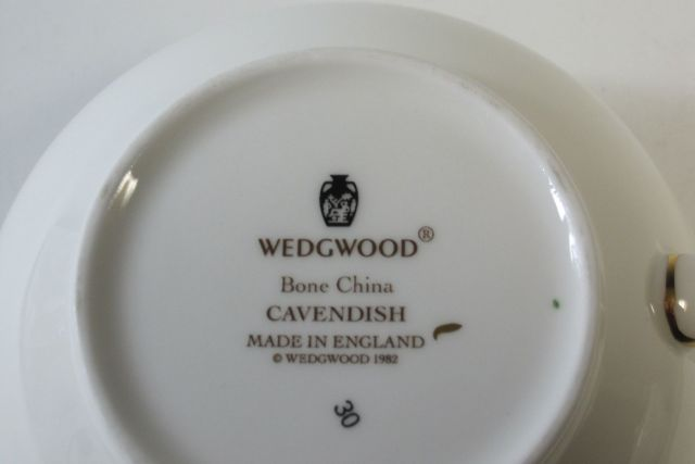ウェッジウッドWedgwood キャベンディッシュ  クリーマー L