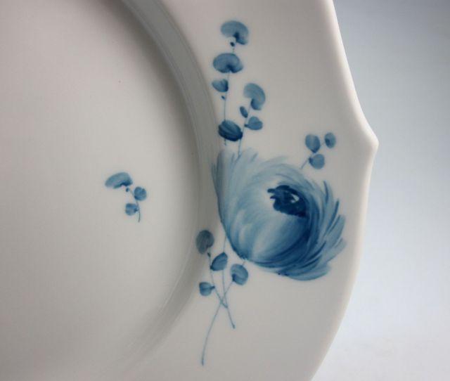 【50%オフ】 マイセン Meissen 青い花 22cm プレート 【個数限定】