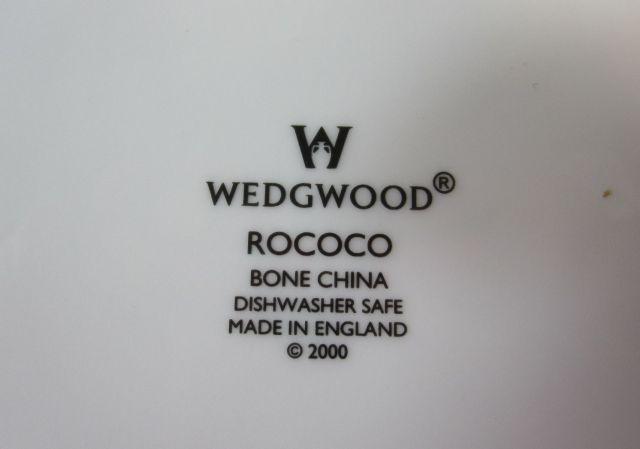 ウェッジウッド Wedgwood ロココ プレート27cm