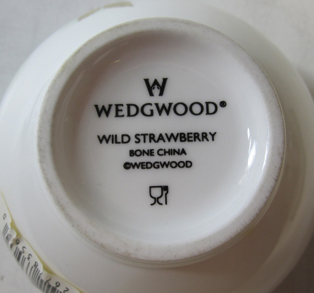 ウエッジウッド Wedgwood ワイルドストロベリー ティーボウル