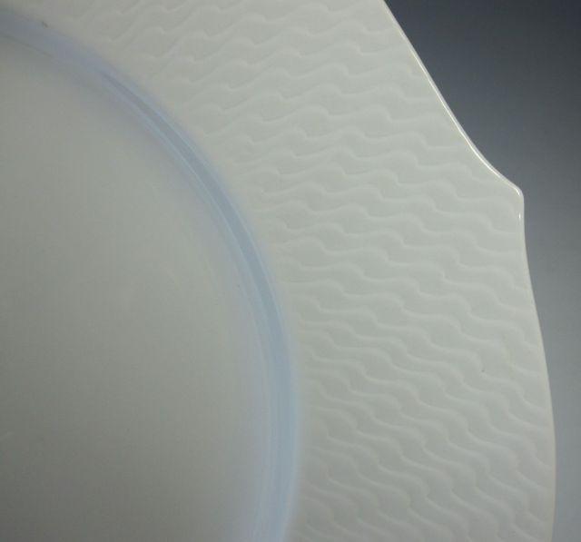 マイセン Meissen 波の戯れ 28cm プレート