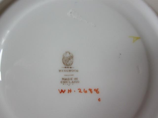 ウェッジウッド Wedgwood WH2688 スープ カップ&ソーサー 【アンティークウェッジウッド/個数限定】