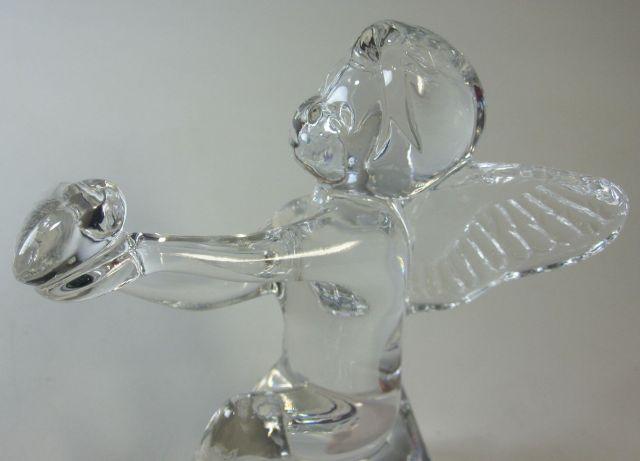 バカラ Baccarat エンジェル 天使  ハートを持つエンジェル 【廃盤品/個数限定】※ボックス不良のため特別価格です