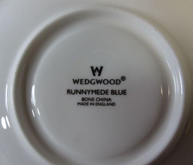 ウェッジウッドWedgwood ラニミードダークブルー ティーカップ&ソーサー リー【ウェッジウッド廃盤品/個数限定】