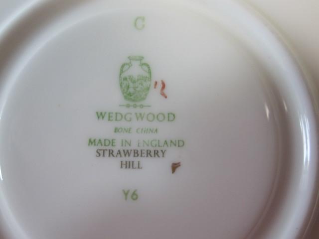 ウェッジウッド Wedgwood ストロベリーヒル  カップ&ソーサー  リー【ウェッジウッド廃盤品/個数限定】