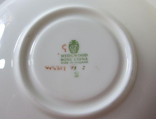 ウェッジウッド Wedgwood ハニーサックル  ティーカップ&ソーサー【ウェッジウッド廃盤品/個数限定】