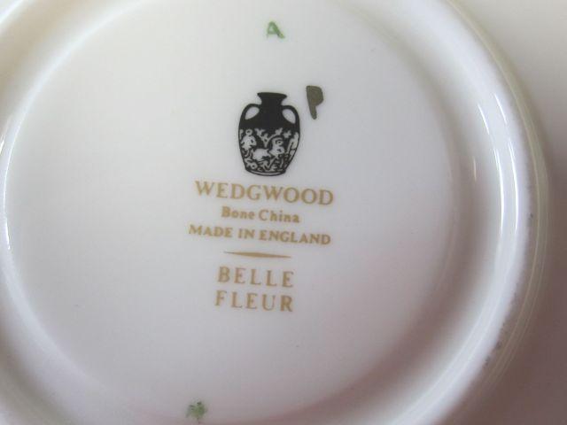 ウェッジウッド Wedgwood ベルフレアー  カップ&ソーサー リー【ウェッジウッド廃盤品/個数限定】