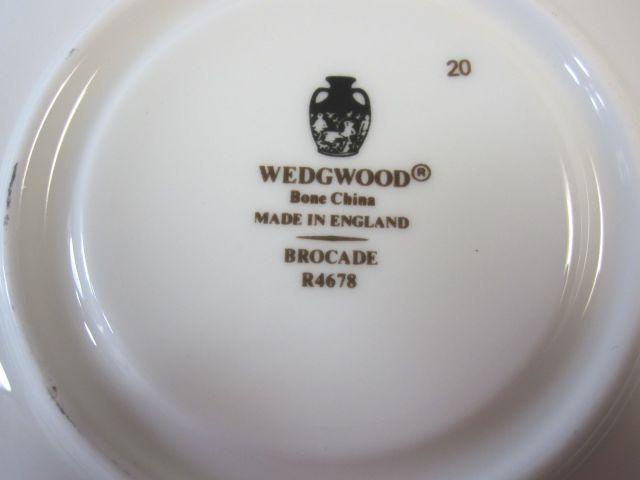 ウェッジウッド Wedgwood ブロケード ティーカップ&ソーサー  リー 【ウェッジウッド廃盤品/個数限定】