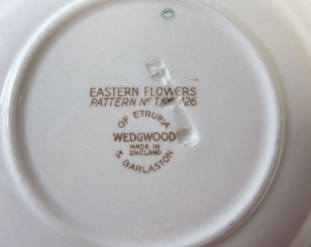 ウェッジウッド Wedgwood イースタンフラワー   ティーカップ&ソーサー【ウェッジウッド廃盤品/個数限定】