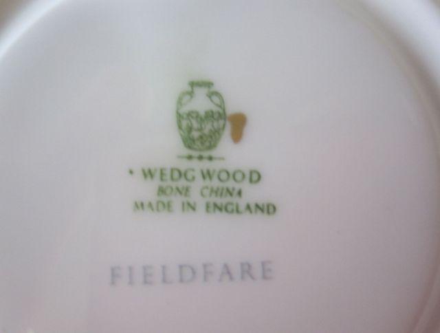 ウェッジウッド Wedgwood フィールドフェアーグリーン カップ&ソーサー リー【ウェッジウッド廃盤品/個数限定】