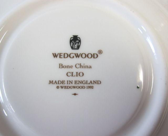 ウェッジウッド Wedgwood クリオ  カップ&ソーサー  ボンド  フルリムボーダー【ウェッジウッド廃盤品/個数限定】