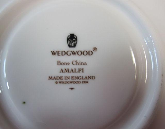 ウェッジウッド Wedgwood アマルフィー カップ&ソーサー ピオニー【ウェッジウッド廃盤品/個数限定】