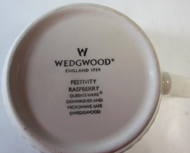 ウェッジウッド Wedgwood フェスティビティ  ラズベリー  マグカップ