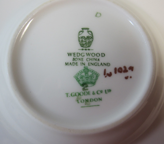 ウェッジウッド Wedgwood  コバルトロイヤル カップ&ソーサー ボンド 【ウェッジウッド廃盤品/個数限定】