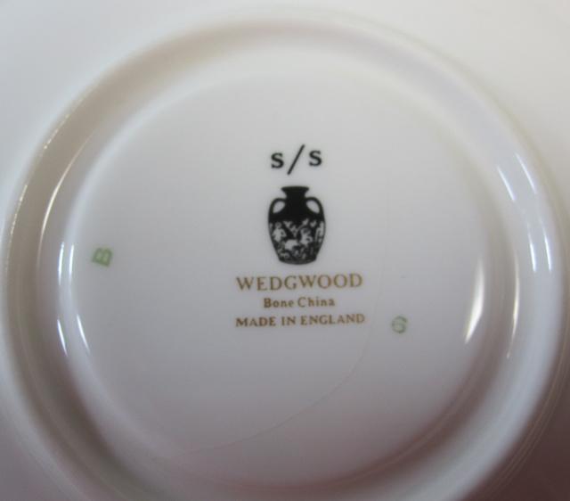 【グレード2/B級品】ウェッジウッド Wedgwood ダウンランド カップ&ソーサー リー