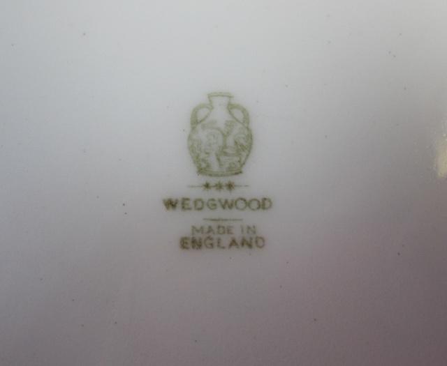 ウェッジウッド フロレンティーン ライトブルー 27cmプレート【アンティーク ウェッジウッド/個数限定】