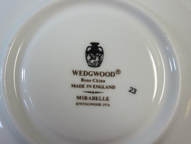 ウェッジウッドWedgwood ミラベル カップ&ソーサー リー 【ウェッジウッド廃盤品/個数限定】