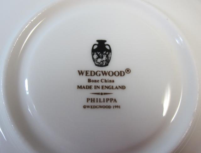 ウェッジウッドWedgwood  フィリッパ  カップ&ソーサー  リー【ウェッジウッド廃盤品/個数限定】