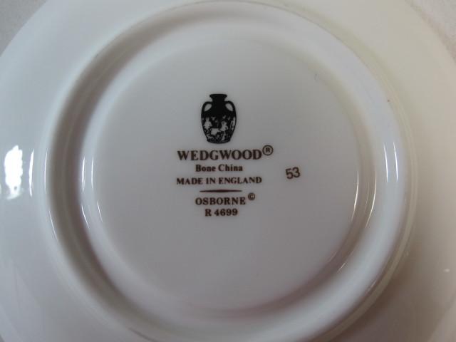 ウェッジウッド Wedgwood オズボーン ボンド (デミタス) カップ&ソーサー  【個数限定】