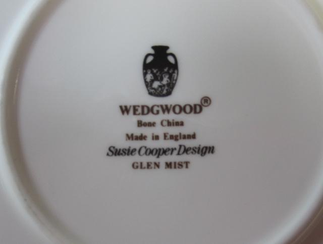 ウェッジウッド Wedgwood グレンミスト カップ&ソーサー   キャン 【ウェッジウッド廃盤品/個数限定】