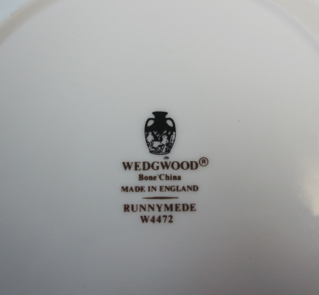 ウェッジウッド Wedgwood  ラニミードダークブルー プレート 18cm【ウェッジウッド廃盤品/個数限定】