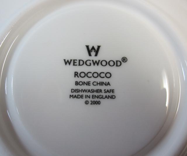 ウェッジウッド Wedgwood ロココ カップ&ソーサー ボンド【ウェッジウッド廃盤品/個数限定】