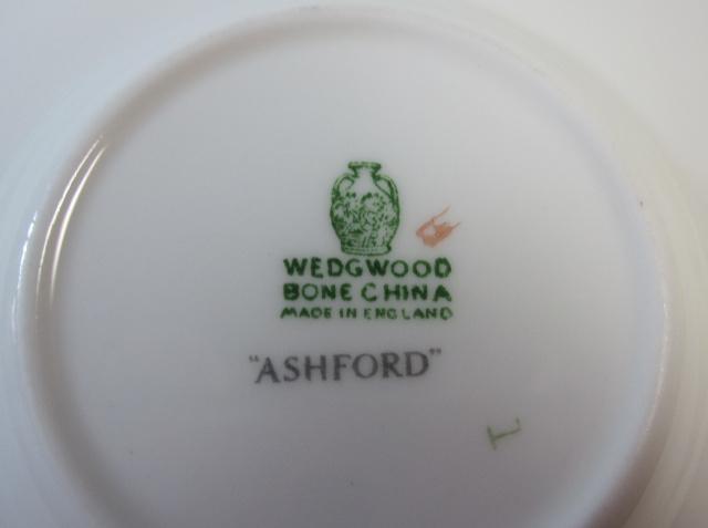 ウェッジウッド Wedgwood  アッシュフォードイエロー  カップ&ソーサー  ボンド【ウェッジウッド廃盤品/個数限定】