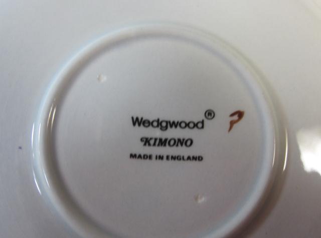 ウェッジウッド Wedgwood キモノ(着物)  ティーカップ&ソーサー【ウェッジウッド廃盤品/個数限定】