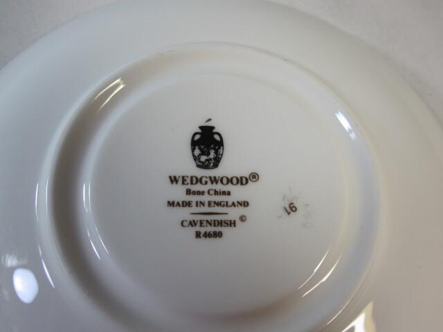 ウェッジウッドWedgwood  キャベンディッシュ  カップ&ソーサー  リー 【ウェッジウッド廃盤品/個数限定】