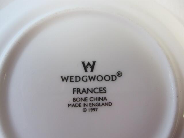ウエッジウッド WEDGWOOD フランシス コーヒーカップ&ソーサー 【ウェッジウッド廃盤品/個数限定】