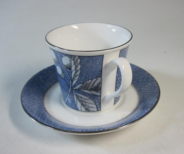 ウエッジウッド Wedgwood フランシスブルー コーヒー カップ&ソーサー 【ウェッジウッド廃盤品/個数限定】