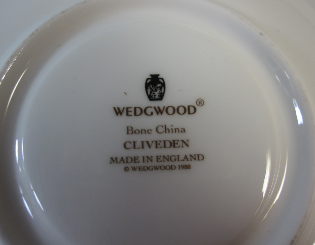 ウェッジウッドWedgwood  クリブデン  カップ&ソーサー  リー 【ウェッジウッド廃盤品/個数限定】