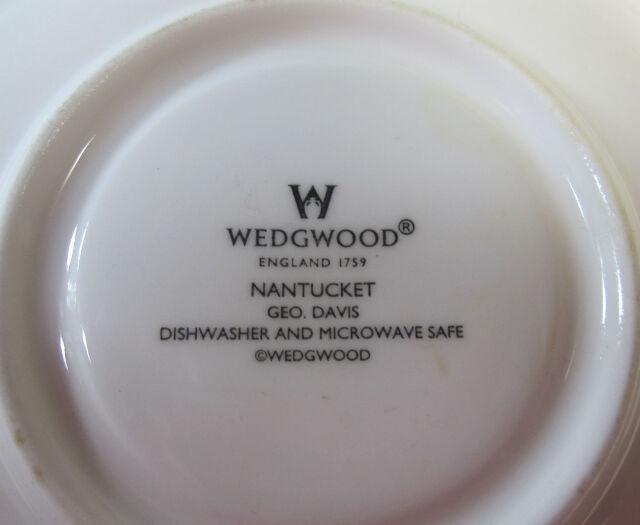 ウエッジウッド Wedgwood ナンタケット ティー カップ&ソーサー 【ウェッジウッド廃盤品/個数限定】